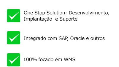 WMS integracao sap oracle